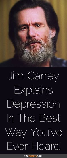 What Jim Carrey Can Teach Us About Life And Depression | The Hearty Soul