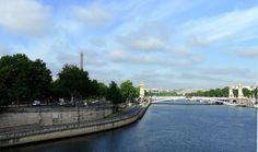 Paris VII - Pont Alexandre III Port des Invalides Quai d'Orsay