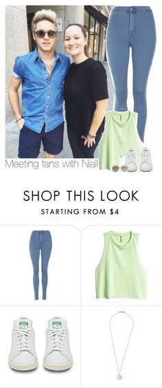 """""""Meeting fans with Niall"""" by mrsrofmalik ❤ liked on Polyvore featuring Topshop, H&M, Black Apple, Ippolita and Le Specs"""