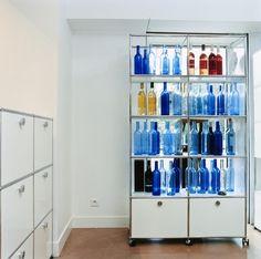 USM Haller is een modulair meubelbouwsysteem welk geschikt is voor vele toepassingen.