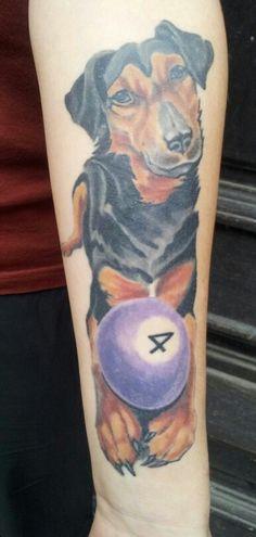 Best friend Dog tattoo