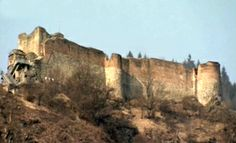 Poenari Castle in Romania - supposedly the fortress of Vlad Dracul the Impaler. So on my bucket list.