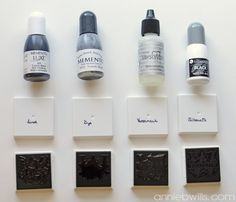 Using Other Inks with Your Silhouette Mint by Annie Williams - Inks 1 Silhouette Mint, Silhouette Cameo Files, Silhouette School, Silhouette Cameo Tutorials, Silhouette Curio, Silhouette Portrait, Silhouette Machine, Silhouette Projects, Silhouette America