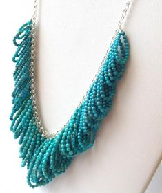 Turquoise Sterling Silver Statement Necklace