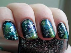 galaxy nails -- too awesome