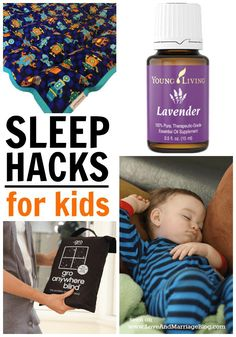 Let's get some sleep! Here are five quick and painless sleep hacks for kids.