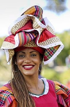 Woman wearing Jamaican national costume for cultural display at Governor General's Residence, Kings House, Kingston, Jamaica - Photo by Tim Graham Jamaican People, Jamaican Women, Jamaica Culture, Caribbean Culture, Black Is Beautiful, Beautiful People, Jamaica National, Mardi Gras, Culture Clothing