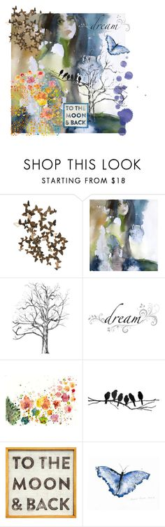 """""""Dreamer"""" by kay79 ❤ liked on Polyvore featuring Alchemy Collection, Wall Pops!, ferm LIVING, Sugarboo Designs and Morphe"""