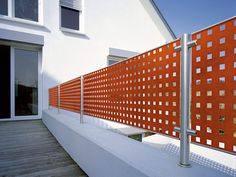 perforated protective fencing