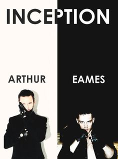 mrearvindelgado:    Arthur (Joseph Gordon Levitt) and Eames (Tom Hardy) of the film Inception. One of the coolest movies ever made.