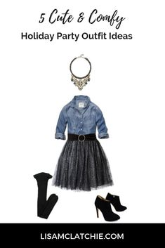 e51c3e92161f3 Check out these cute and comfy casual holiday party outfit ideas. They are  perfect for