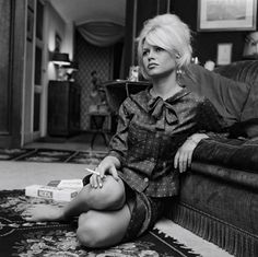 The Blonde with the American Cigarettes by John McNab, via Flickr