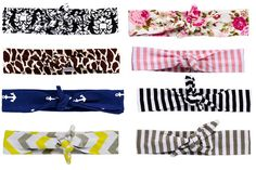 Choose from 8 prints in our Knotted Collection :)