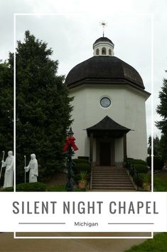 The Silent Night Chapel in Frankenmuth, Michigan is an exact replica of the original chapel in Austria where the song was played for the first time.