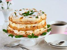 Ihana Mango-passion Britakakku - Suklaapossu Camembert Cheese, Mashed Potatoes, Mango, Deserts, Ethnic Recipes, Passion, Food, Cakes, Whipped Potatoes