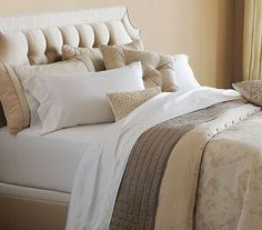 Bring an air of refined elegance to your home with our Brookfield Bedding Collection.