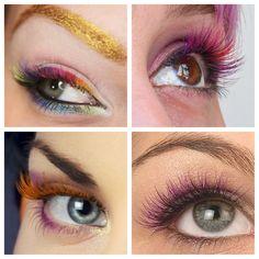 Beautiful red and black eyelash extensions by Eva Bond studios ...