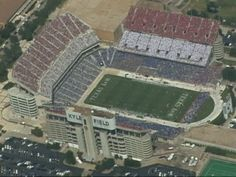Incredible day to be an Aggie. The Red, White and Blue Out (A & M's Post 9/11 Tribute)