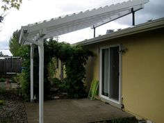 Pergola Kits Attached To House Back Patio, Patio Roof, Pergola Patio, Diy Patio, Backyard Patio, Pergola Canopy, Pergola Shade, Deck With Pergola, Pergola Ideas