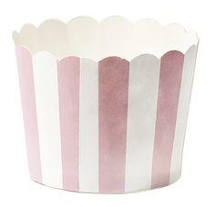 In dieses süßen kleinen Cup Cakes Formen aus Papier kann man nicht nur Muffins, sondern auch Bonbons oder Pralinen präsentieren - ein Blickfang auf...