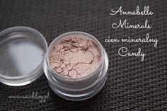 Joanna bloguje: RECENZJA: Anabelle Minerals mineralne cienie do powiek - Cappuccino, Candy, Ice Cream, Chocolate, Platinum, Mint.