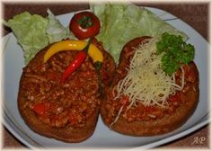 Pikantní masová směs na topinky Czech Recipes, Russian Recipes, Ethnic Recipes, Healthy Diet Recipes, Cooking Recipes, Vegetable Casserole, Yummy Appetizers, Main Meals, Food And Drink