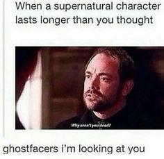 But I love the Ghostfacers