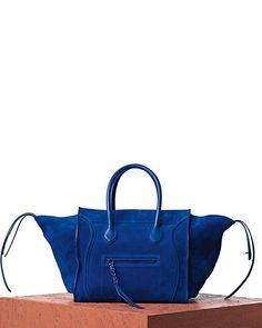 celine royal blue bag