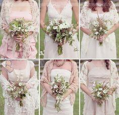 neutral bridesmade dresses :)