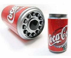 Coca Cola Can Shape Corded Telephone
