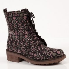 Oh how cute & unique are these Candy Boots? They make a statement!