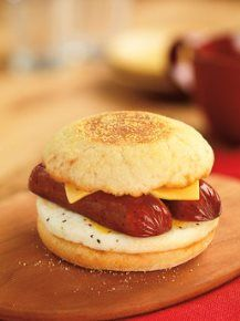 The Spicy Smoked Sausage Breakfast Sandwich is now available for a limited time at Dunkin' Donuts. This delicious sandwich features a spicy split sausage link with egg and American cheese, served oven-toasted on an English Muffin.