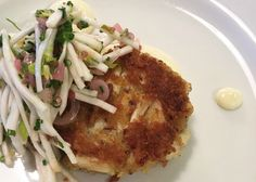 Matt Adler's Crab Cakes With Garlic Aioli