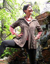 Ravelry: Quercus Cardigan pattern by Julie Turjoman