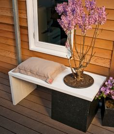 Make your own little gardenbench