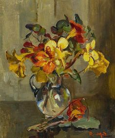 Nasturtiums by Rose Mead