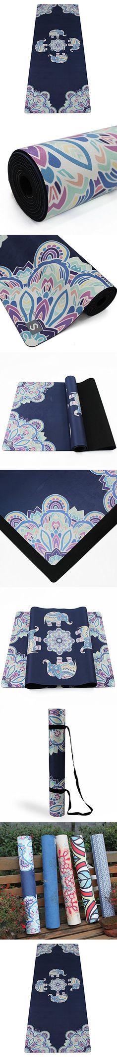 """S-WYJ Yoga Mat, Elephant, 25.6""""x72"""""""