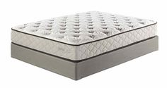Mount Whitney Plush White Traditional Classics King Mattress