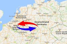Transport Germany to Belgium. Shipping from Germany to Belgium.