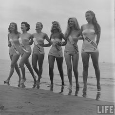 Women circa Swimsuit styles has come and go, but these women show looking hot in swimwear is totally timeless. Take in these 80 vintage babes in bathing suits to get in the summer mood.