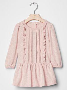 Slub pintuck  dress Product Image