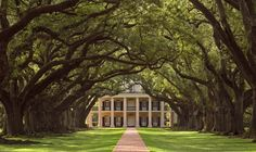 Oak Alley Plantation is a Historic Home in South Vacherie. Plan your road trip to Oak Alley Plantation in LA with Roadtrippers. Old Southern Homes, Southern Style, Southern Mansions, Southern Charm, Southern Living, Southern Gothic, Southern Comfort, Southern Plantation Style, Plantation Style Homes