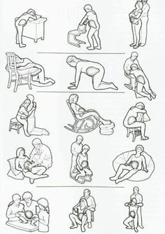 Pin on Grossesse et accouchement (pregnancy and birth) Pin on Grossesse et accouchement (pregnancy and birth) Labor Positions, Prenatal Workout, Pregnancy Information, Anatomy Drawing, First Time Moms, Doula, Baby Bumps, Baby Fever, Maternity Photography