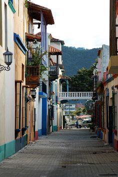 Calle Lanceros, Puerto Cabello, Venezuela. I could sit here for hours, so peaceful!