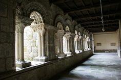 Claustro de Santa María de Sar, Santiago de Compostela (Spain).
