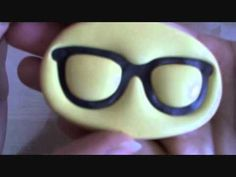 ♥ Polymer Clay Nerdy Glasses Tutorial ♥ - YouTube