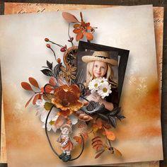 Vent d'automne collab by Aurelie Scrap & Mel Designs Scrap, Wreaths, Fall, Design, Home Decor, Autumn, Decoration Home, Room Decor, Scrap Material