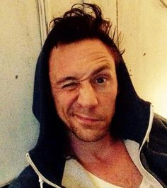 This is Tom waking up! Its part of a campaign to raise money for Syria!