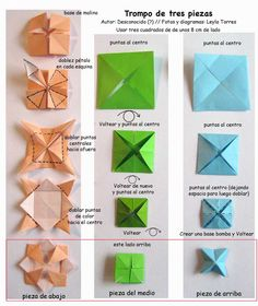 . Origami Paper-Atelier in Metamorphosis: Mixer in origami, super fun, two models for you