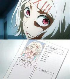 Suzuya. Tokyo Ghoul ♥ when I first saw him I thought he was at first a girl but now I know that I was wrong